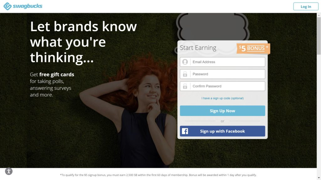 swagbucks screenshot bonus feature image