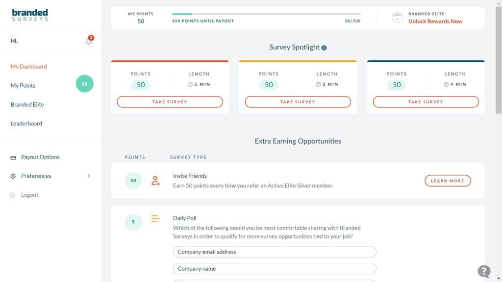 branded surveys review surveys